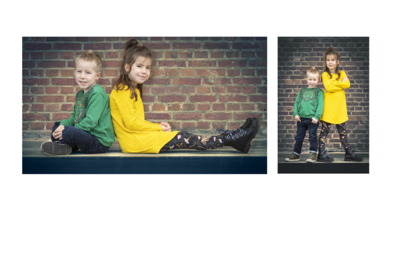 Broer en zus portretfotografie