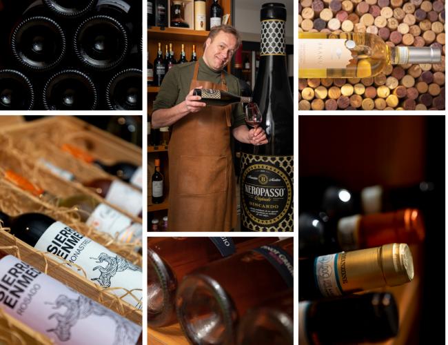 Wijnhandel Halve morgen, bedrijfsfotografie